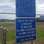 Marysville wastewater treatment plant