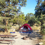 Grey cliffs campground