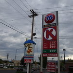 Circle k gas station central point or