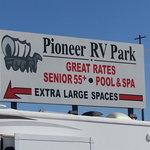 Pioneer rv park wellton az