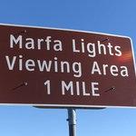 Marfa lights viewing center