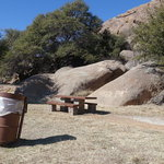 Point of rocks picnic area