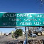 Balmorhea lake fishing camping