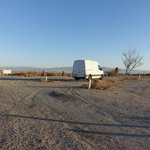 Salton city dry camp area