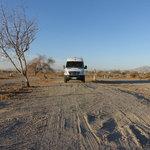Salton city dry camp area
