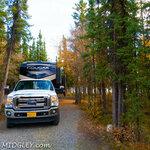Deadman lake campground tetlin nwr