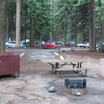 Upper pines campground