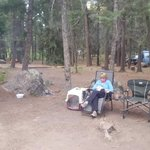 East fork campground san juan nf
