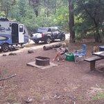 East fork campground san juan nf