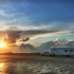 Bolivar flats free beach