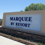 Marquee on the bay rv resort