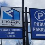 French quarter public parking