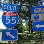 I 55 rest area southbound hernando ms