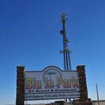 Blu in rv park