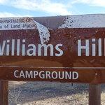 Williams hill recreation area