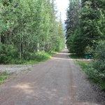 Thompson creek provincial recreation area