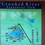 Crooked river provincial park