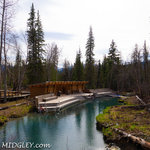 Liard river hot springs provincial park
