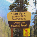 East fork baker creek campground