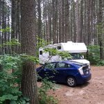 Pog lake campground algonquin provincial park