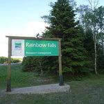 Rainbow falls whitesand lake provincial park