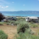 East beach campground bear lake sp