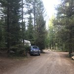 Big springs campground caribou targhee nf