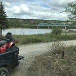 Pelly river crossing campground