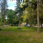 Peach orchard campground