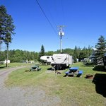 Birchwood campground and cabins