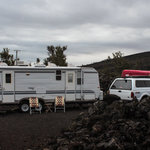Lava flow campground
