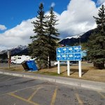 Canmore dump station