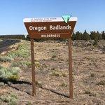 Badlands rock