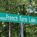 French farm lake
