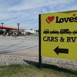 Loves travel stop gary in