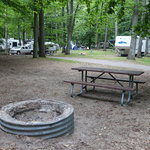 Lake michigan campground