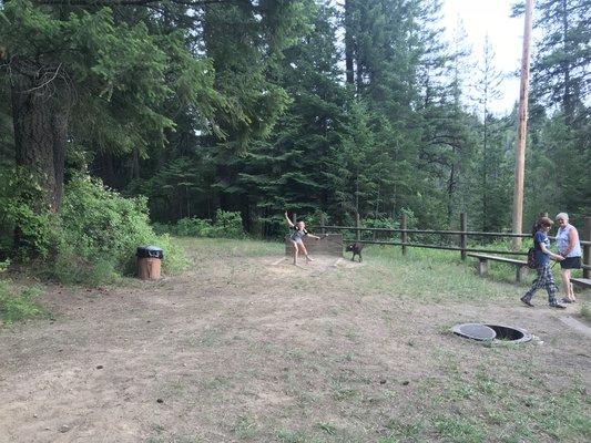 Mokins bay campground