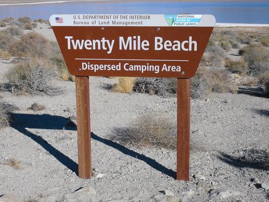 20 mile beach walker lake