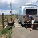 Wyoming territorial prison dump station