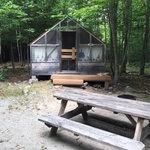 Wilderness edge campground