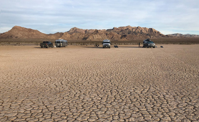 Silurian dry lake bed