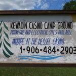 Kewadin casino campground hessel mi