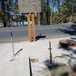 Deadman pass rest area