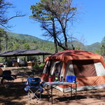 Reef townsite campground