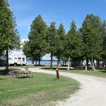 Sandy shores campground manistique mi