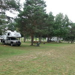 Michihistrigan campground cabins