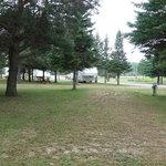Michihistrigan campground cabins