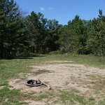 Alcona primitive campsites 6 7