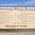 Chewing blackbones campground