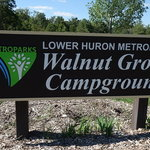Walnut grove campground lower huron metropark